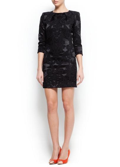 siyah kısa elbise modeli
