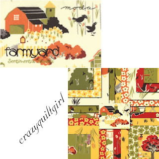 Moda FARMYARD Quilt Fabric by Sentimental Studios