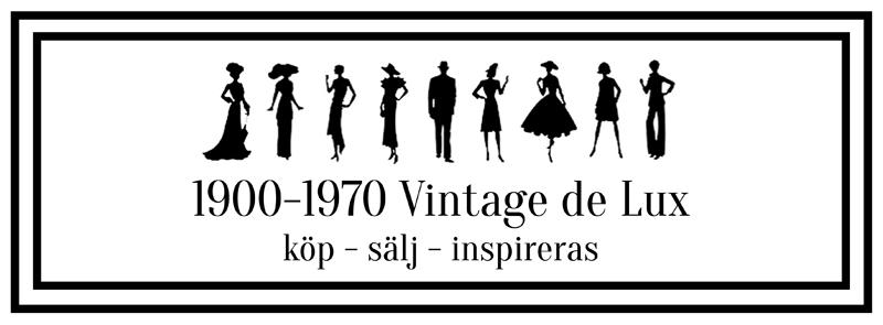 1900-1970 Vintage de Lux på Facebook
