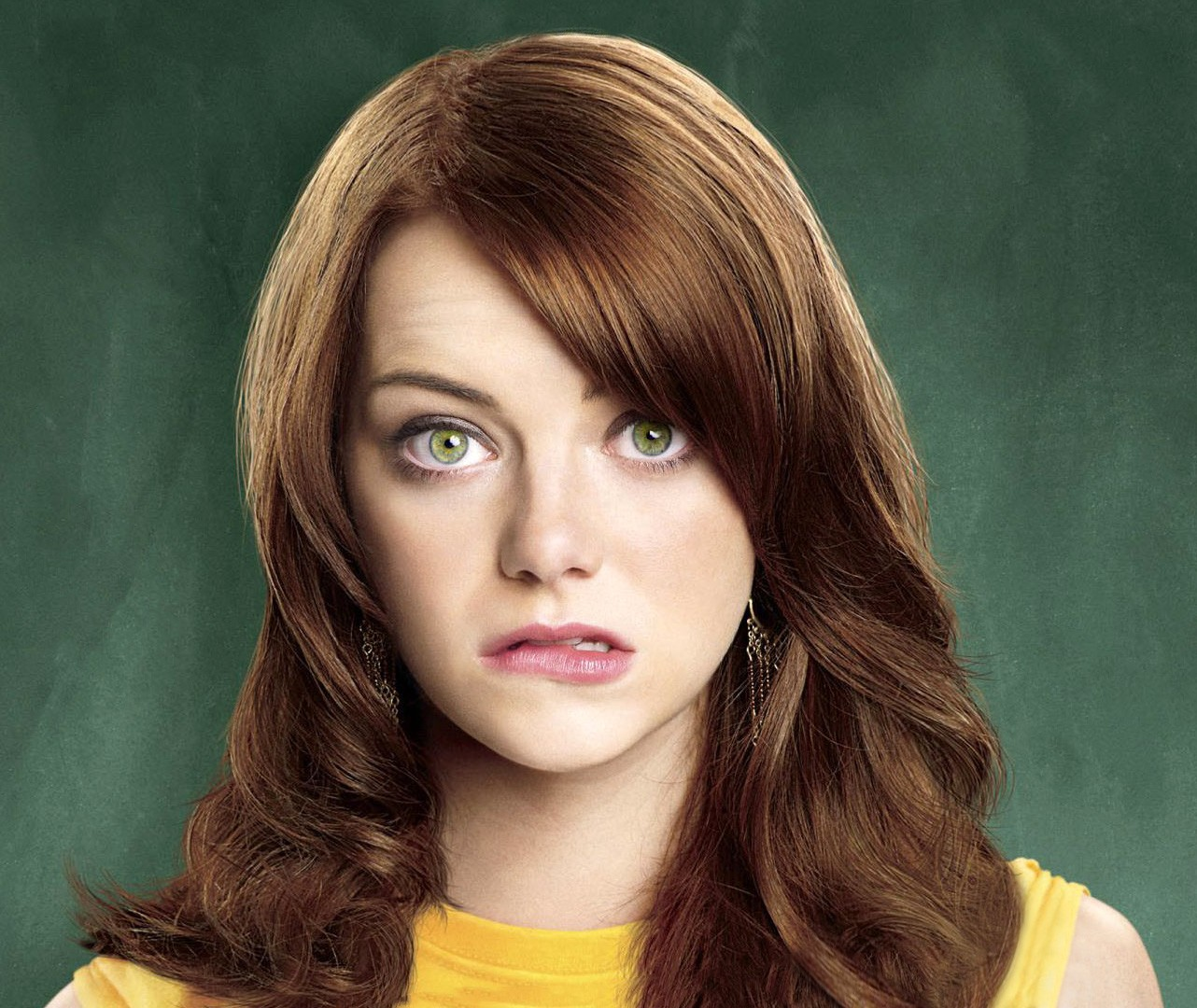 Emma Stone in Zombieland With Big Eyes 8