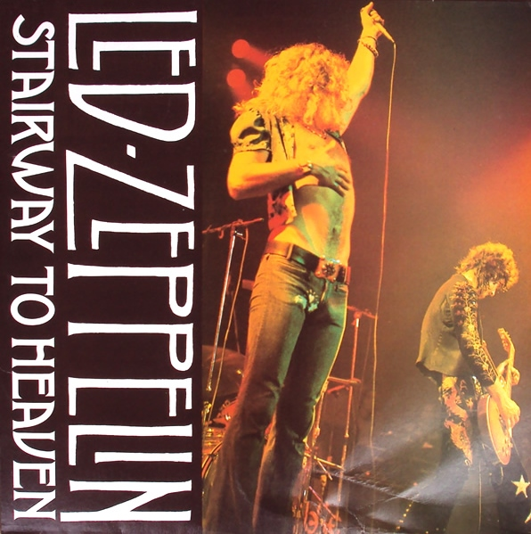 Vinyl Radio Led Zeppelin Stairway To Heaven 1990