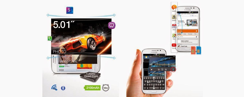 Fitur dan Spesifikasi Samsung Galaxy Grand Neo GT-I9060