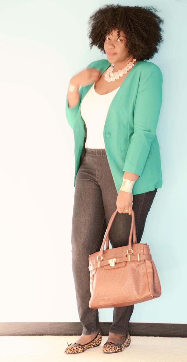 PLus size style inspiration: how to wear a blazer