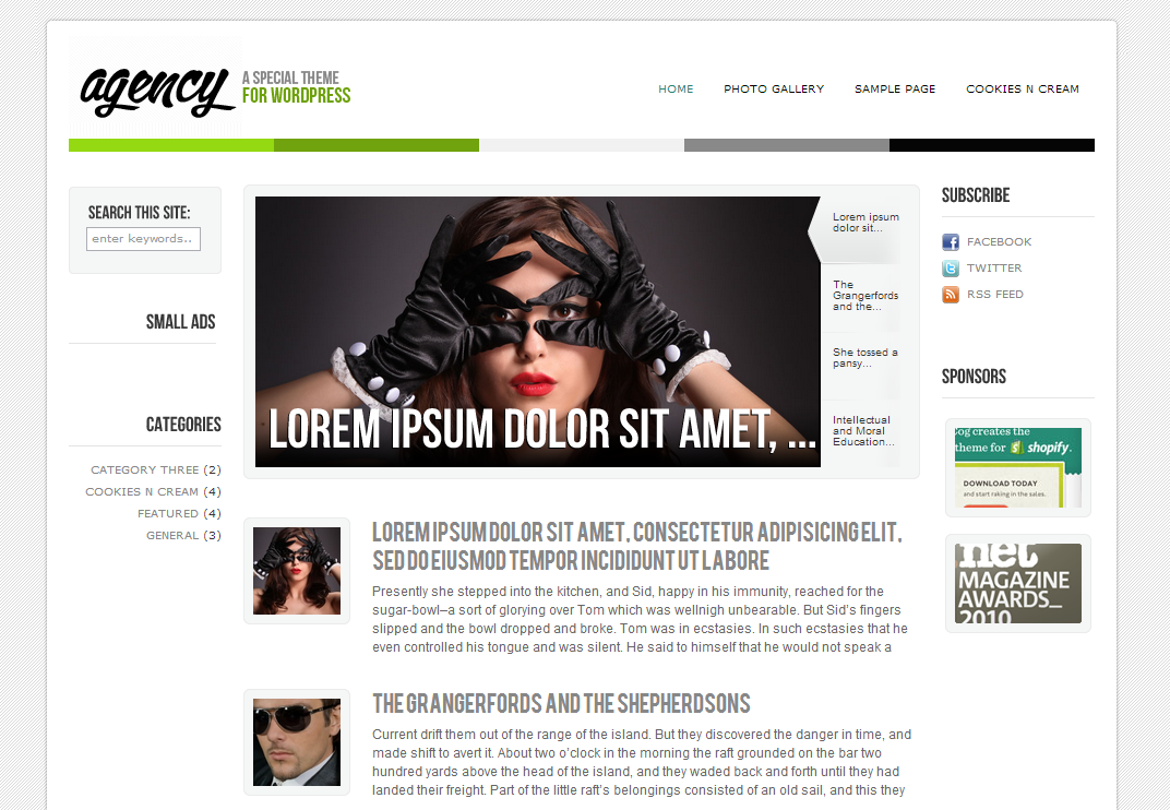 Agency – Professional WordPress Theme