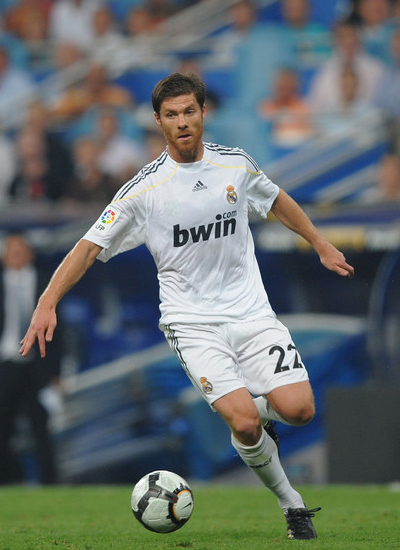 Xabi Alonso Real Madrid transfer Manchester United