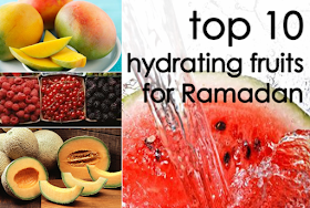 Top 10 Hydrating Fruits For Ramadan
