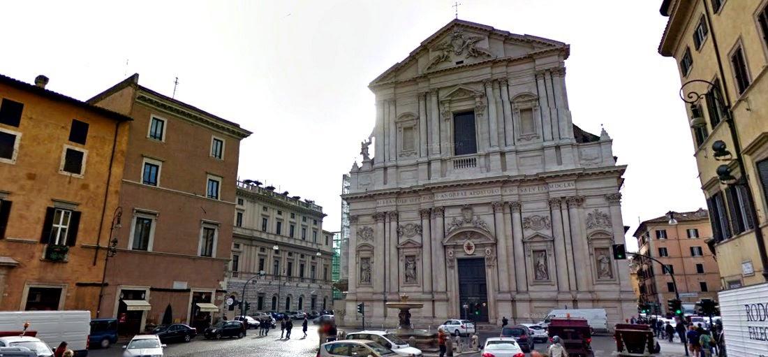 Piazza sant'Andrea della Valle