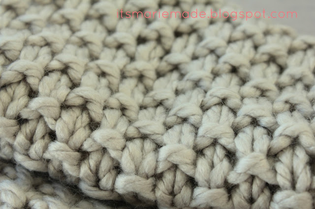 Knitting Stitch Patterns For Chunky Yarn : It s marie made finished projects chunky moss stitch