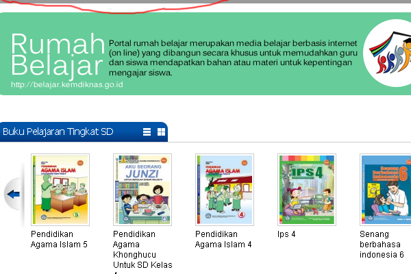 Download Buku Pelajaran SD Kurikulum 2013
