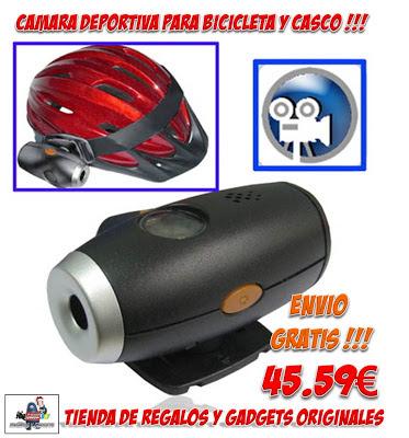 CAMARA CASCO BICICLETA