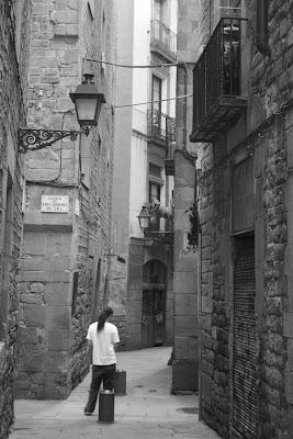 Jewish Quarter in Barcelona