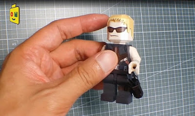 LEGO Hawkeye Papercraft - Quiver