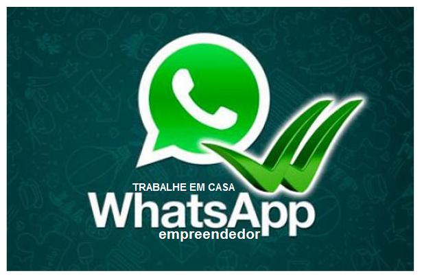 WhatssApp Para Empreendedores - TRABALHE EM CASA