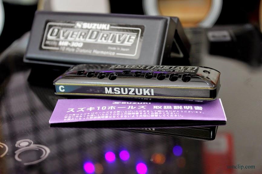 Kèn Harmonica - Suzuki Overdrive MR-300