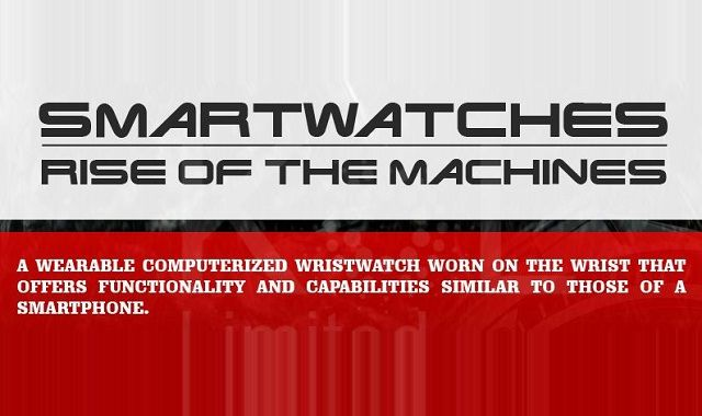 Image: Smartwatches: Rise of the Machines #infographic