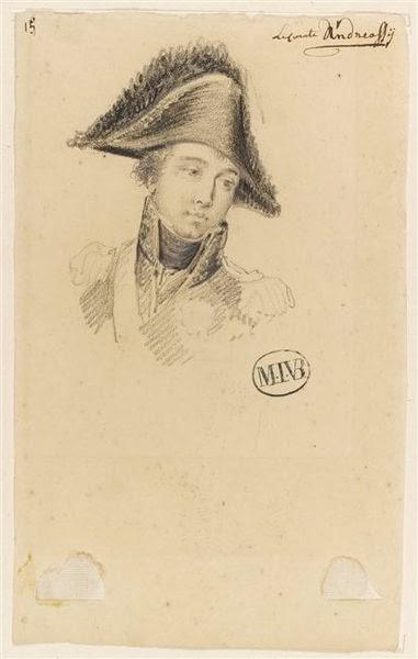 Antoine-François, Comte d'Andréossy by Mattheus Ignatius van Bree