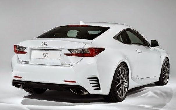 Lexus RC Rear View