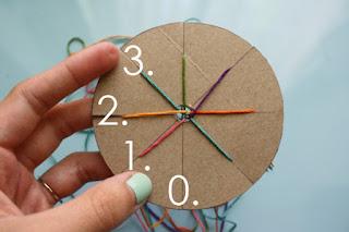 4 Renkli İplerden Bileklik Yapımı