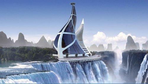 Futuristic Digital Architecture