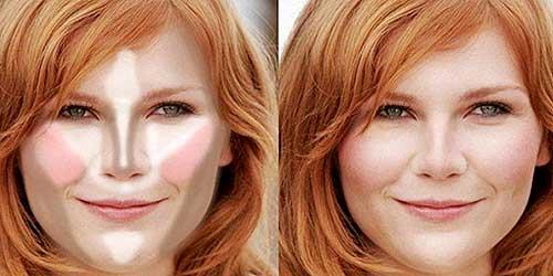 Como maquillarte segun la forma de tu rostro: rostro redondo