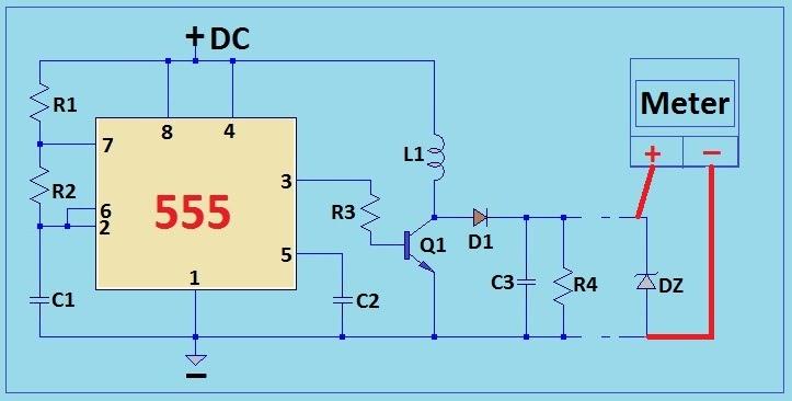 Diagram Zener Test Diode Tester Circuit Schematic