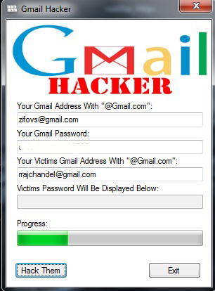 gmail hack password