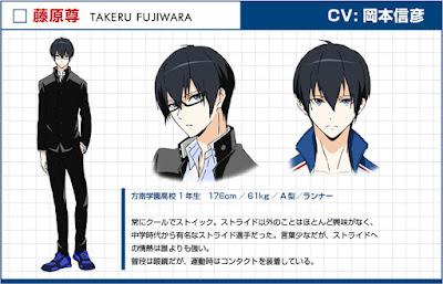 Nobuhiko Okamoto sebagai Takeru Fujiwara