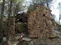 Una altra barraca de vinya a la Serra Mitjana