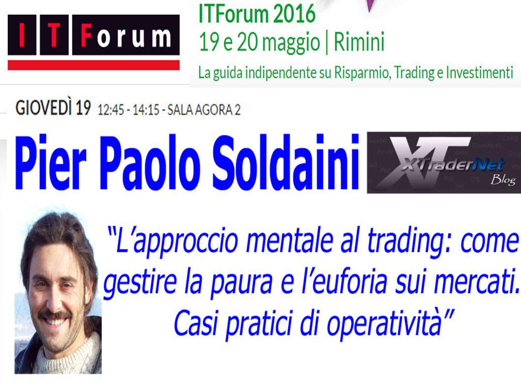 XTraderNet a ITForum Rimini 2016