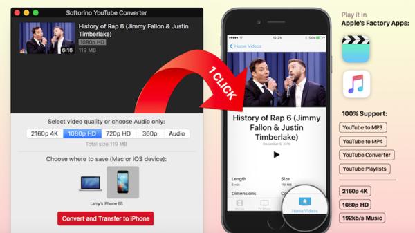"""تحميل مقاطع يوتيوب على أجهزة آيفون لمشاهدتها """"أوفلاين"""""""