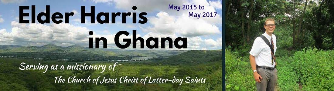 Elder Harris in Ghana!