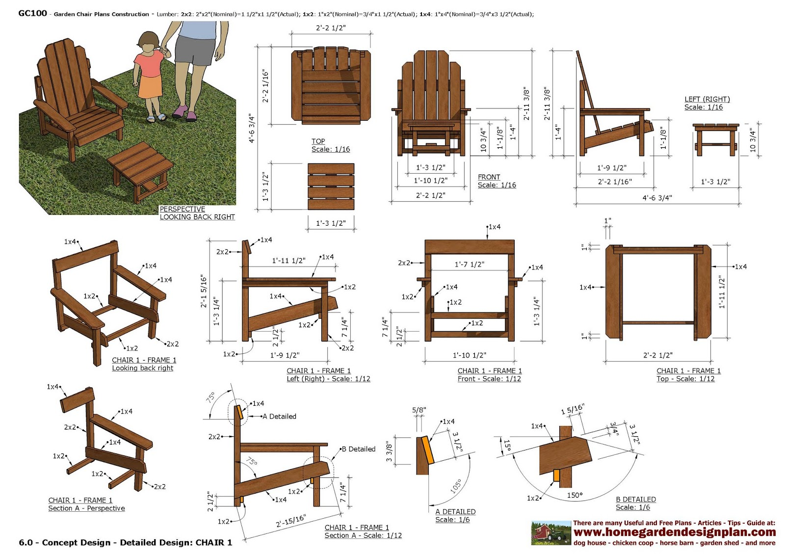 Garden Furniture Plans home garden plans: furniture plans: arbor swing plans - garden