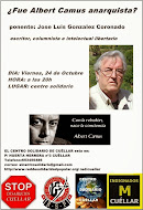 Conferencia ¿Fue Albert Camus anarquista?