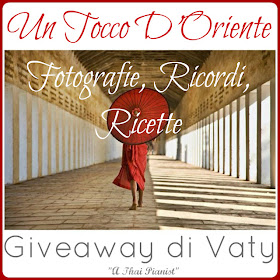 Il mio Giveaway!