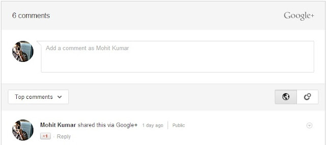 Google Introduces Google + Commenting on Blogger