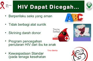 Pencegahan Penularan Penyakit HIV AIDS