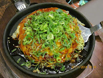 Okonomi-Yaki, or 'Hiroshima Pancakes,' Hiroshima, Japan