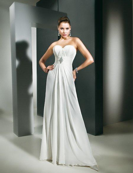 Bustier robe de mariee trop grand