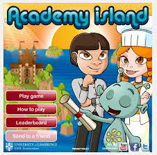 The Academy Island game