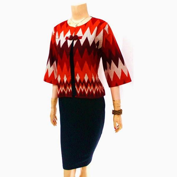 Baju Blouse Batik Motif Rang Rang
