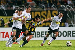 Ver Santos vs. Colo Colo 6 Abril 2011