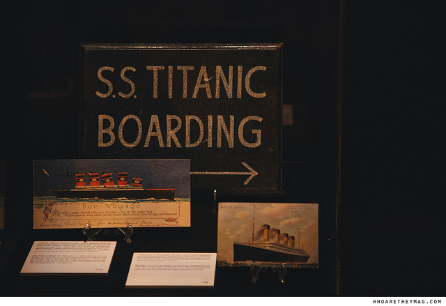 Посадочная табличка на Титанике