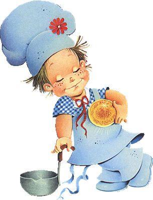 Dibujos de pequenos cocineros - Cocina con ninos pequenos ...