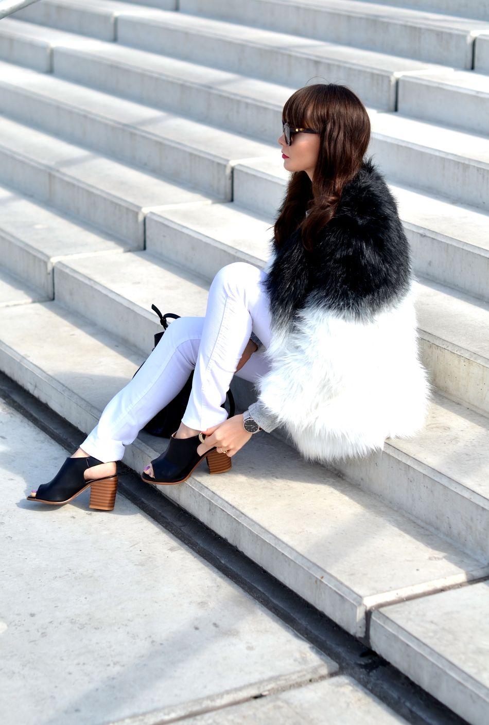 biale spodnie-blogerka modowa-blogi modowe-kamila mraz