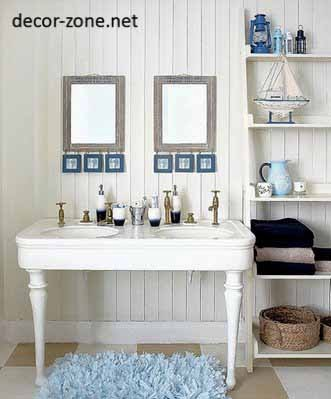 30 bathroom decorating ideas and decoration styles for Nautical bathroom decor ideas