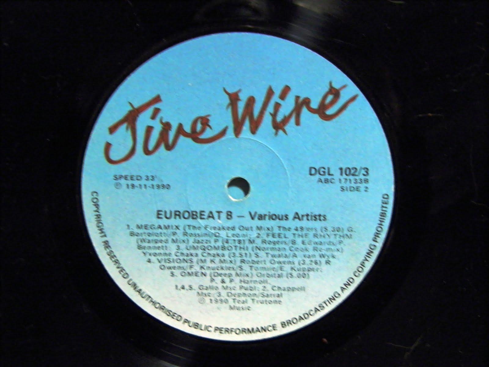 Eurobeat volume 8 90 minute non stop dance remix 2lp for Classic 90s house vol 2