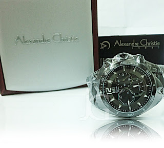 ALEXANDRE CHRISTIE 6214 MC FULL BLACK (ORIGINAL) Rp 875.000
