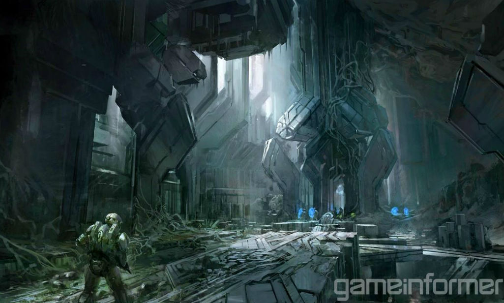 Halo 4 wallpaper concept art image poster hd zeromin0 view 2x for real size wallpaper open in new tab voltagebd Image collections
