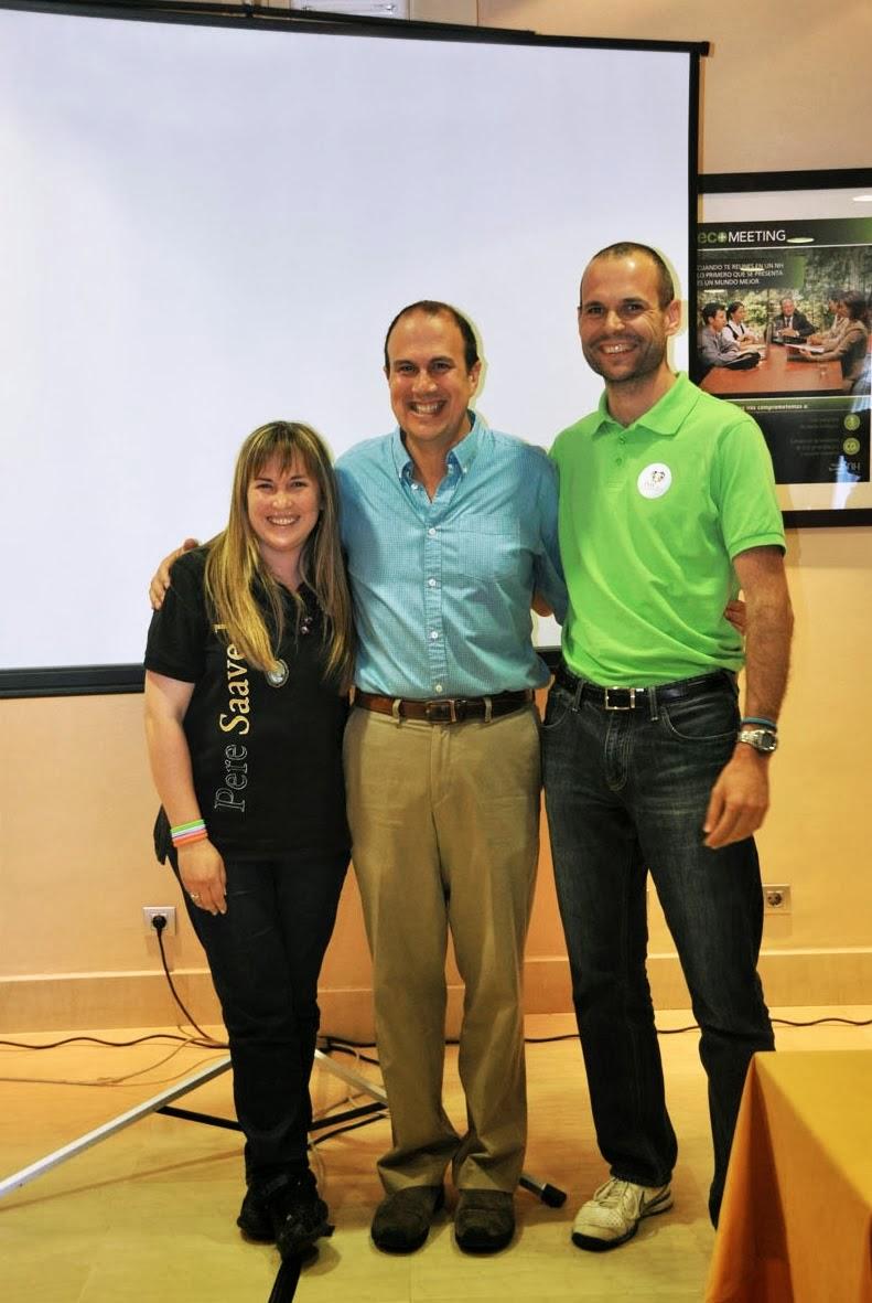 Junto a ¡¡ Ken Ramirez !!. Una experiencia realmente provechosa