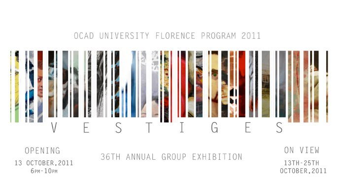 OCAD Florence Exhibition 2011
